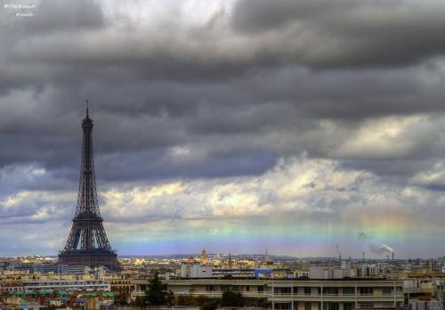25. Радуга в Париже