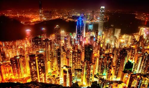 59. Ночной Гонконг