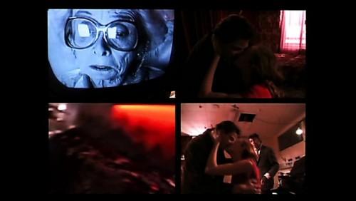 кадр из к/м фильма Майкла Фиггиса, проект «Старше на 10 минут, Виолончель»