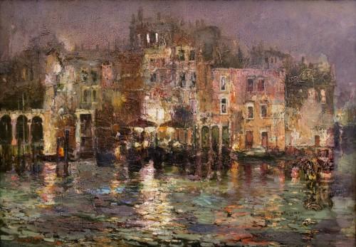 Ляпин Р., Венецианские задворки, хм, 70х100 см, 2012