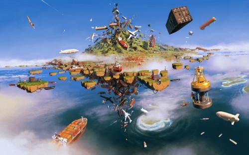 Alex Andreev В центре воздушных течений. Остров погибших кораблей.