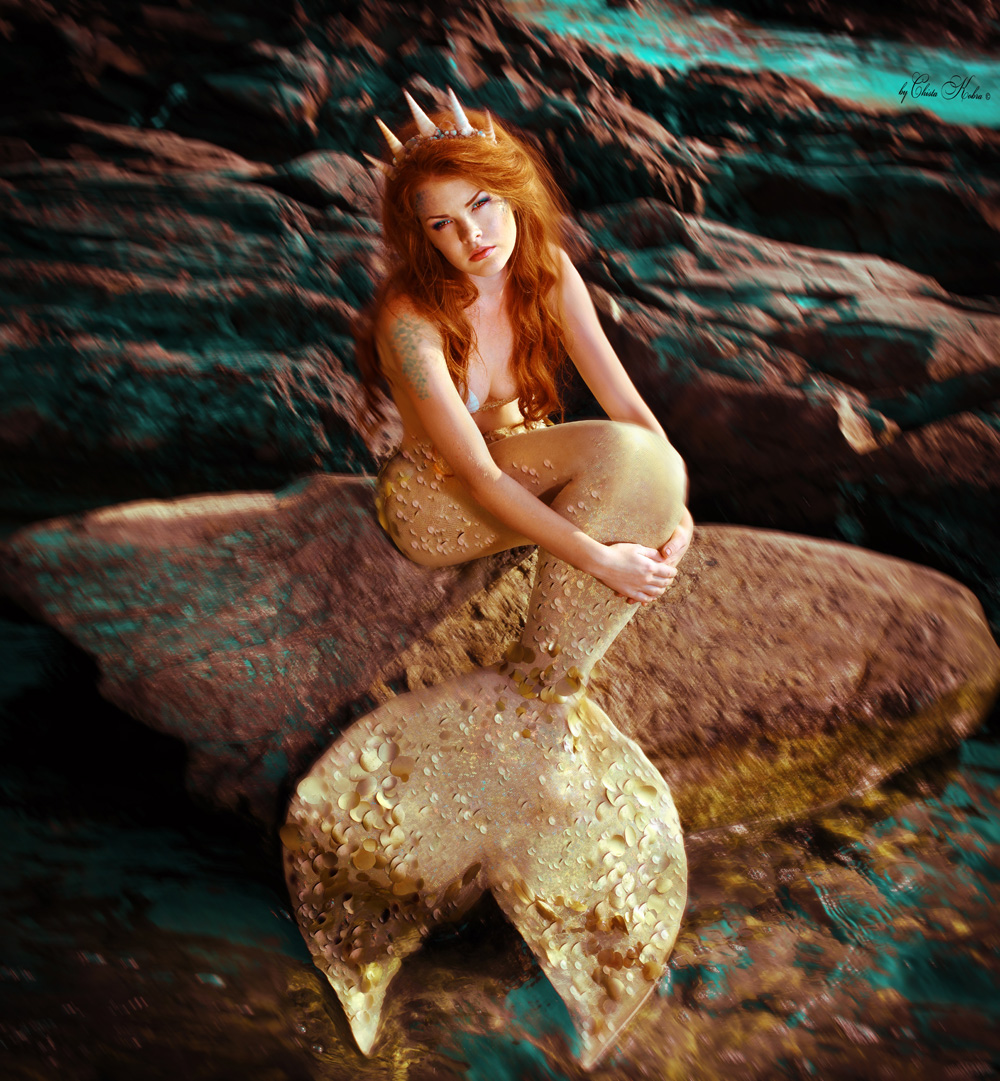 Девушка русалка фотосессия