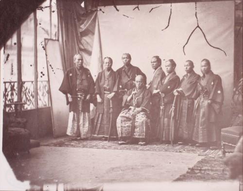 Первая японская миссия в Европу, Франция, 1862 (1)