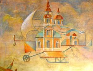 Е.Киселева Летящий Петербург 1