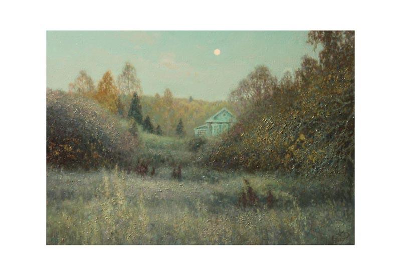 Е.Дубицкий. Сумерки октября, Х.М.,50x70, 2011