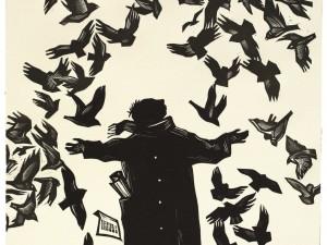 «ПтиЦЫ и ЦЫфры».  Выставочный проект к 130-летию со дня рождения Велимира Хлебникова