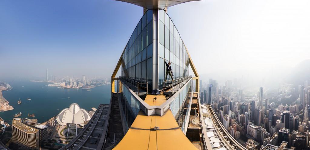 Панорама с Централ Плаза. Гонконг. Вадим Махоров