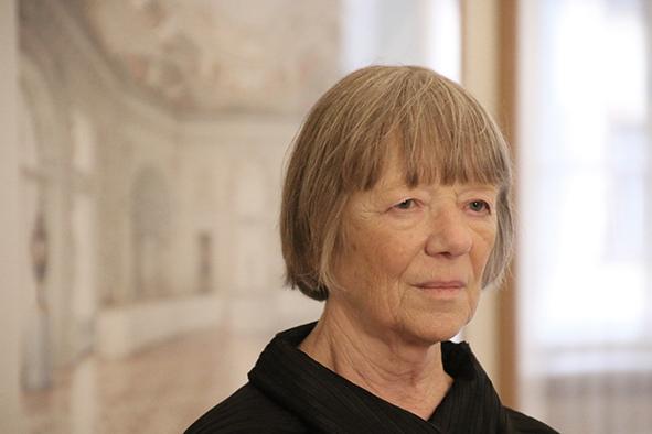 Портрет Кандиды Хёфер. Фото: Вера Соколинская