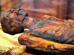 О чем рассказала мумия  (эрмитажный ответ Голливуду)