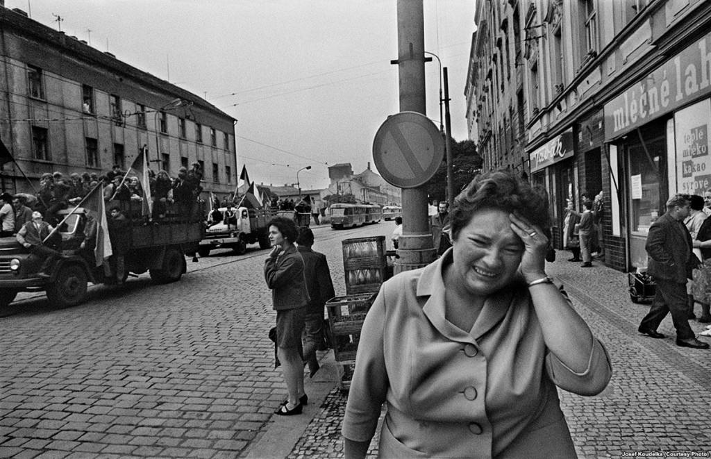 Вторжение Прага 1968 Йозеф Куделка (2)