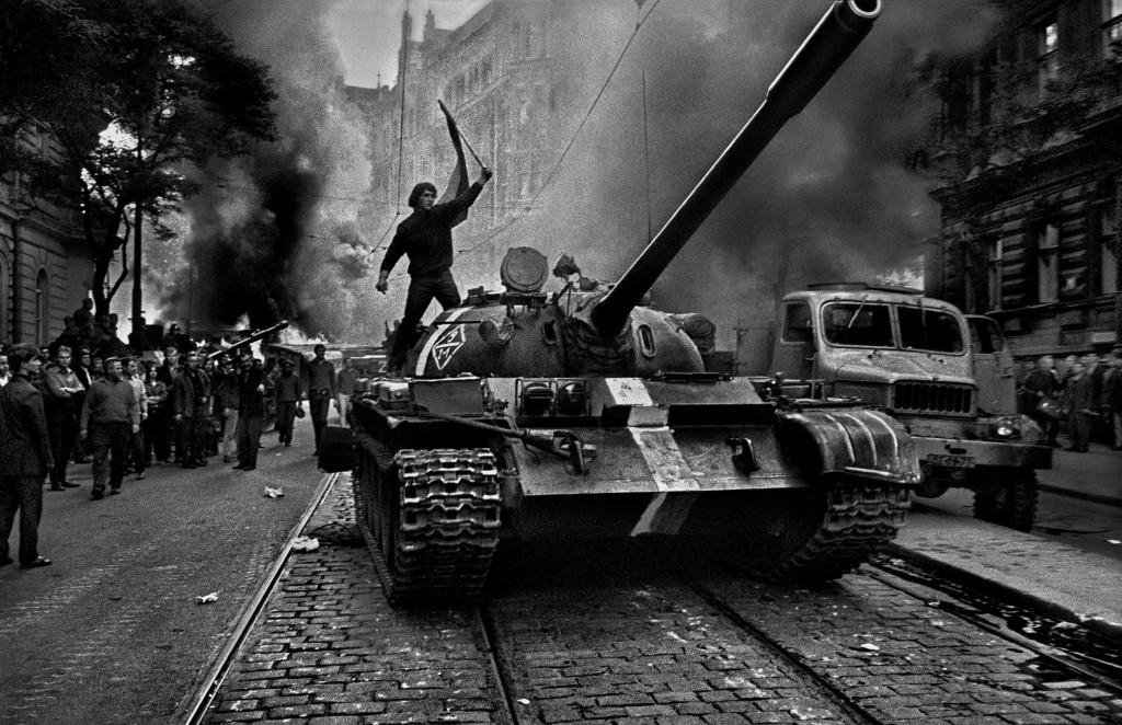 Вторжение Прага 1968 Йозеф Куделка (5)