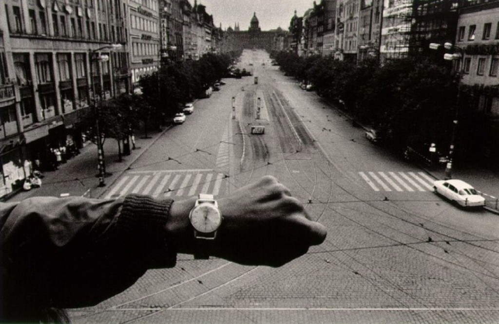 Вторжение Прага 1968 Йозеф Куделка