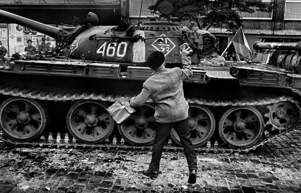 Вторжение Прага 1968 Йозеф Куделка (8)