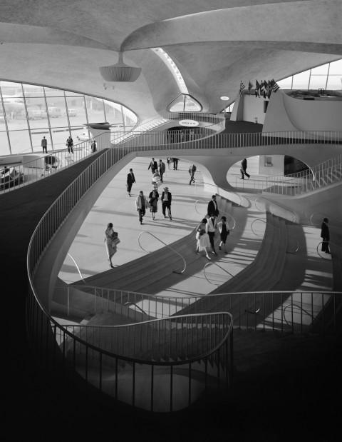 Терминал TWA в аэропорту Джона Ф. Кеннеди.